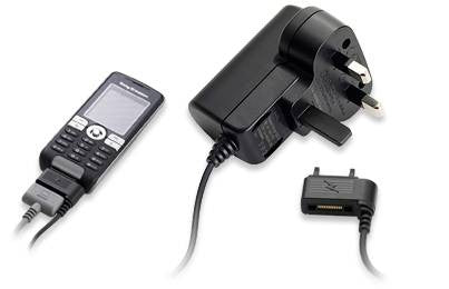 Genuine Sony Ericsson W995i Main Charger - also compatible with W705, W902, W715, K810i, W810i and many others - Evertop Accessories Shop