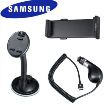 Genuine Samsung i900 Omnia Phone Holder and Car Charger CAD300SBE - Evertop Accessories Shop