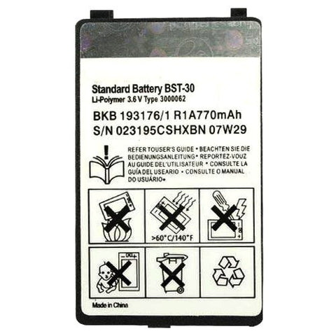 Sony Ericsson BST-30 Battery for K700i / K300i / T290i / Original / BST30 - Evertop Accessories Shop
