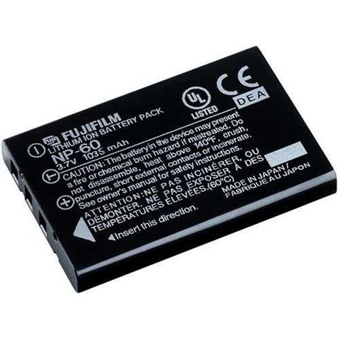 Fuji NP-60 Battery For Fuji FinePix, HP Photosmart Digital Camera's A1812A / Q2232-80001 - Evertop Accessories Shop