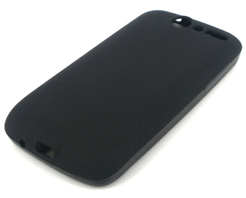 HTC Desire Silicone Skin Case in Black Colour / Soft Touch - Evertop Accessories Shop