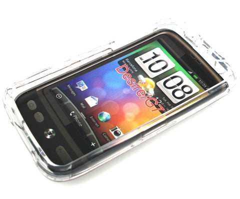 HTC Desire Protective Crystal Clear Case / Transparent - Evertop Accessories Shop