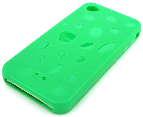 iPhone 4 Protective Silicone Skin Case / Green - Evertop Accessories Shop