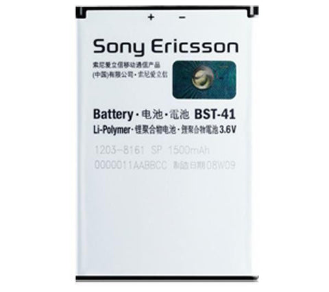 Sony Ericsson BST-41 Battery For Xperia Play Mobile Phone Original 1500mAh - Evertop Accessories Shop