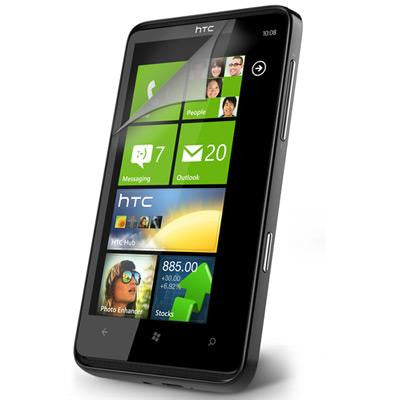 HTC HD7 T9292 LCD Screen Protector Guard with Anti-Glare - Evertop Accessories Shop