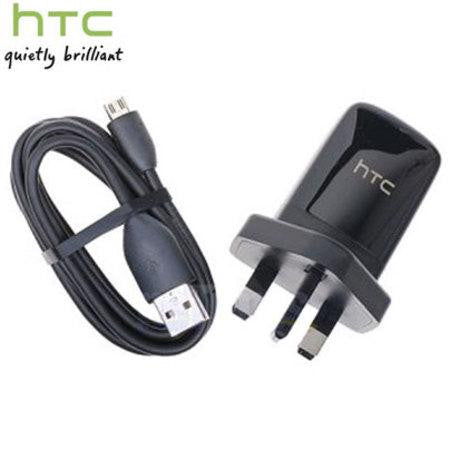 Original HTC TC-B250 USB Power Adapter with DC-M410 USB Cable / UK Plug - Evertop Accessories Shop