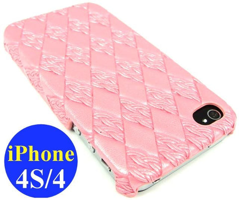 iPhone 4S & iPhone 4 Hard Back Case / Pink - Evertop Accessories Shop