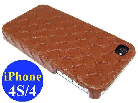 iPhone 4S & iPhone 4 Hard Case / Brown - Evertop Accessories Shop