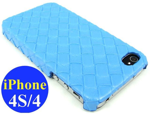 iPhone 4S & iPhone 4 Hard Case / Blue - Evertop Accessories Shop