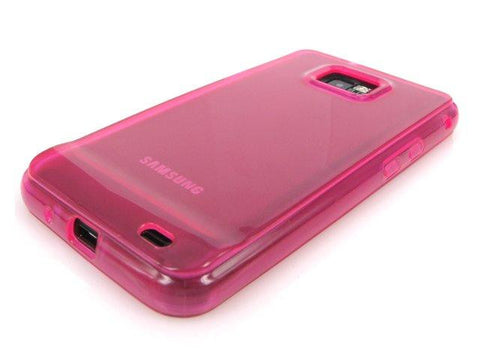 Samsung Galaxy S2 i9100 FlexiShield Protective Gel Skin Case / Pink - TPU - Evertop Accessories Shop