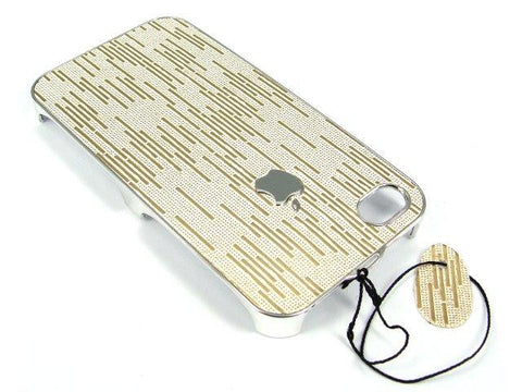 iPhone 4S & iPhone 4 Hard Back Case / Deluxe Edition - Gold Cream - Evertop Accessories Shop