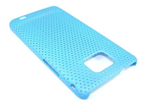 Samsung Galaxy S2 Mesh Vent Protective Case in Baby Blue Colour New - Evertop Accessories Shop