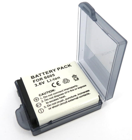 Replacement Panasonic CGA-S005E Battery for Lumix DMC LX3, FX150, FX180, FX50, Digital Camera's - DMW-BCC12 - Evertop Accessories Shop