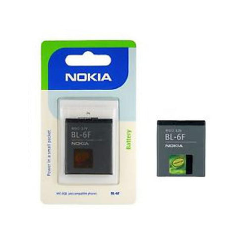 Genuine Nokia BL-5F Battery For N96 N95 N93i E65 6710 6290 6210 Mobile Phone Retail Pack - Evertop Accessories Shop