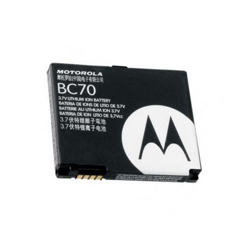 Genuine Motorola Battery BC70 for MOTOROKR E6 / MOTORAZR V3x - Evertop Accessories Shop