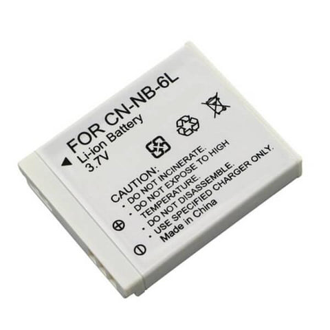 NB-6L Battery for Canon SD770 IS, SD1200 IS, IXUS 95 IS, IXUS 85 IS Camera - Evertop Accessories Shop