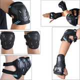 Knee, Elbow, Wrist Protective Pad 6 Pcs Safety Guard Set For Hoverboard Swegway Segway