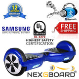 "6.5"" Hoverboard Swegway CE UL Certified Self Balancing Scooter Blue"