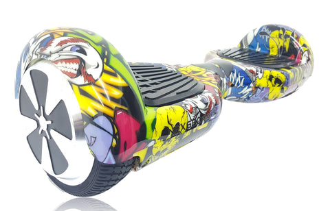"6.5"" Hoverboard Swegway in Urban Hip Hop Colour with Bluetooth Speaker"