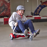 New HK4 Original Cruiser HoverKart® For Converting your Nexgboard Hoverboard to GoKart White
