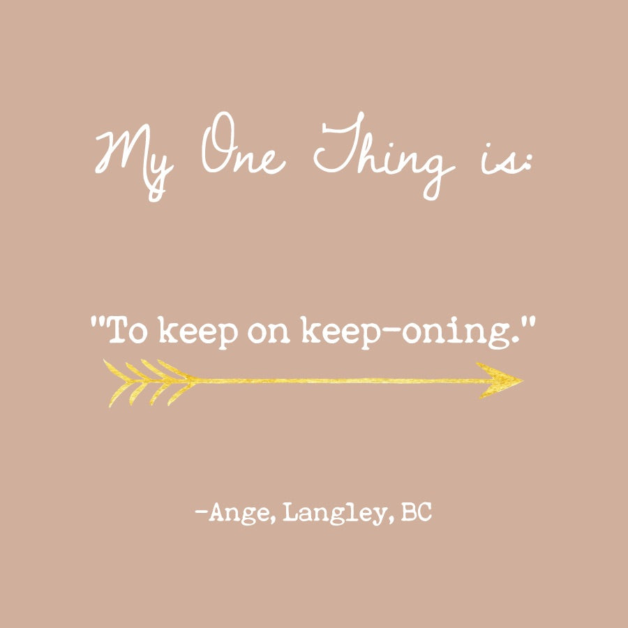 Ange's One Thing
