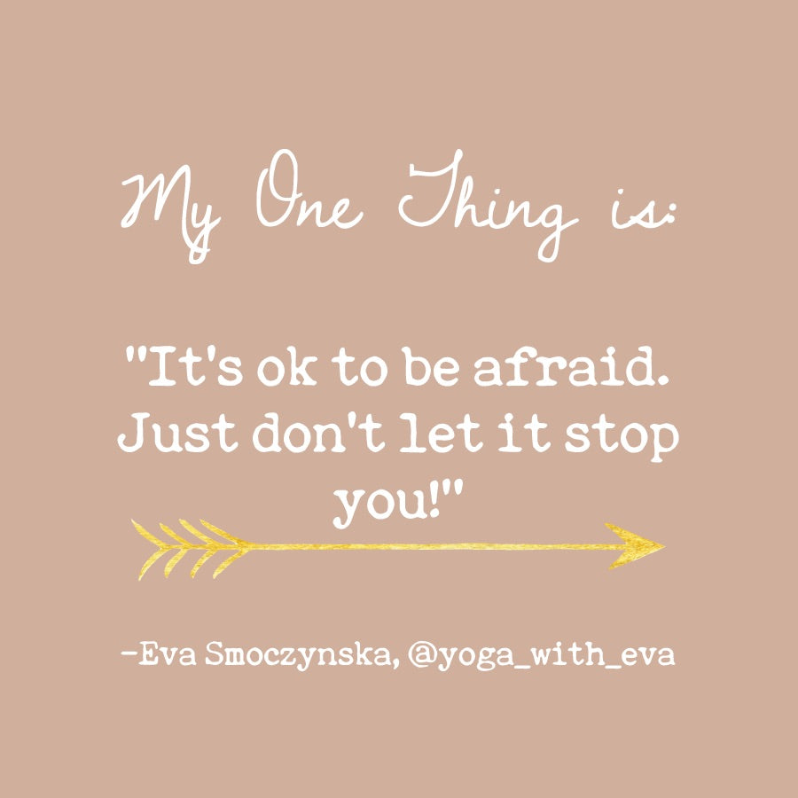 Eva Smoczynska's One Thing