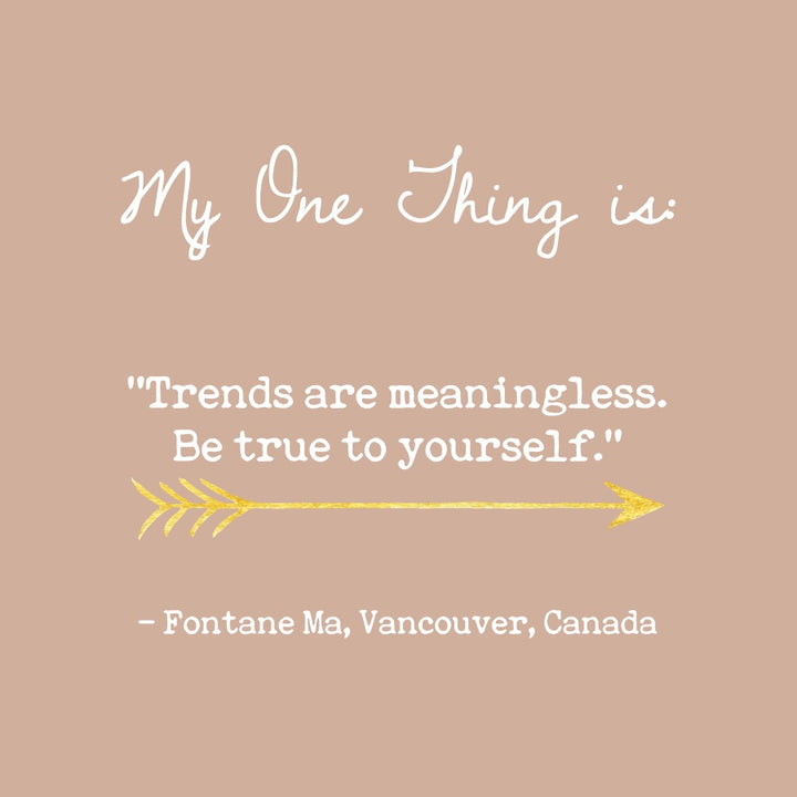 Fontane Ma's One Thing