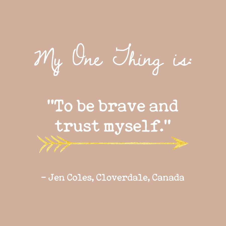 Jen Coles' One Thing