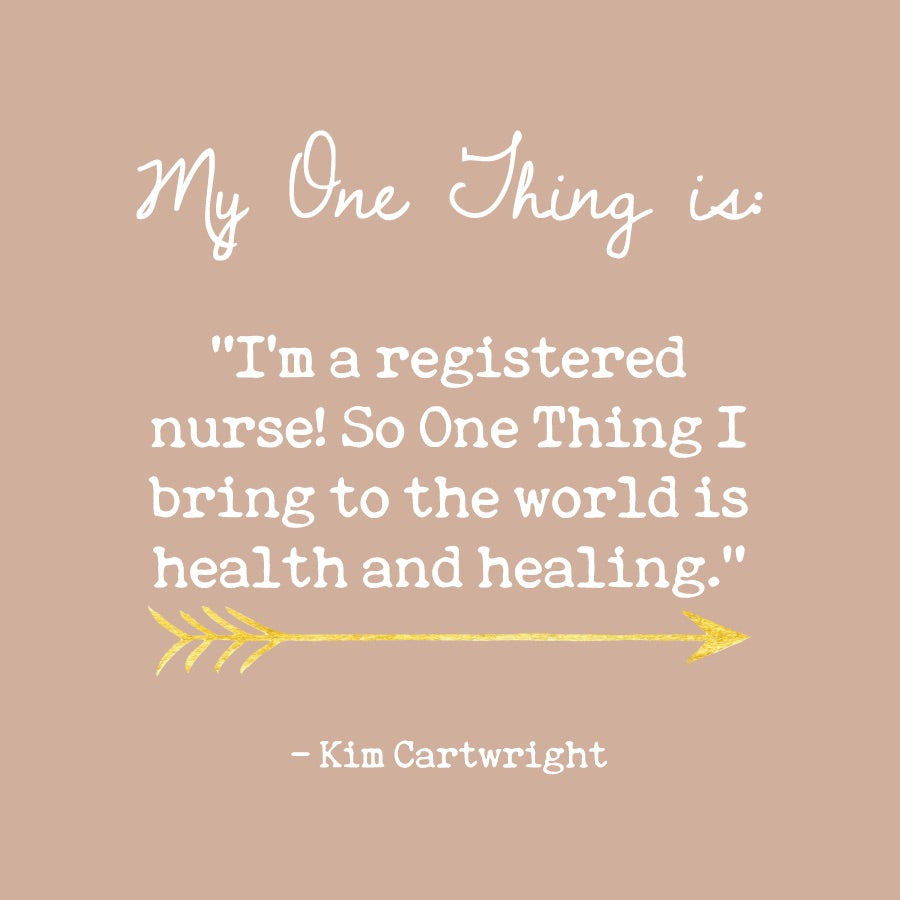 Kim Cartwright's One Thing