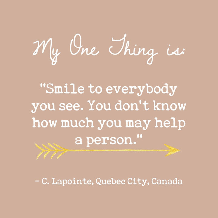 C. Lapointe's One Thing