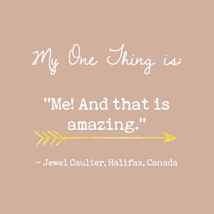 Jewel Caulier's One Thing