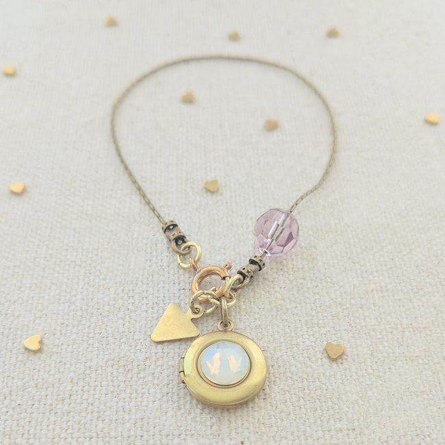"KIDS! - ""FAIRY DUST"" LOCKET BRACELET - One Thing Lockets 