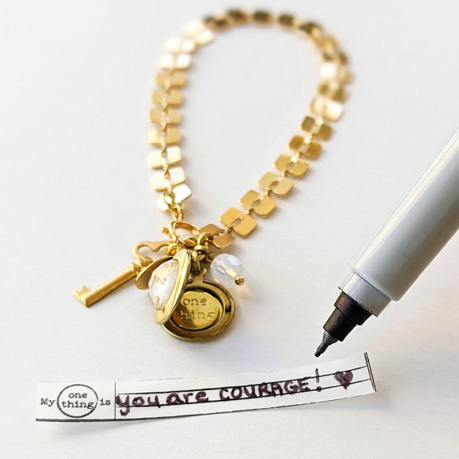 """ETERNAL KEY"" LOCKET BRACELET - One Thing Lockets 