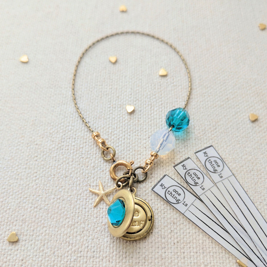 "KIDS! - ""ZOEY'S DREAM"" LOCKET BRACELET - One Thing Lockets 