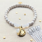KIDS! - OPAL SWAROVSKI & WHITE WOOD LOCKET BRACELET - One Thing Lockets | Empowering People With Their Own Message