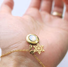 SNOWFLAKE MINIMALIST LOCKET BRACELET - Non tarnish coating - One Thing Lockets | Empowering People With Their Own Message