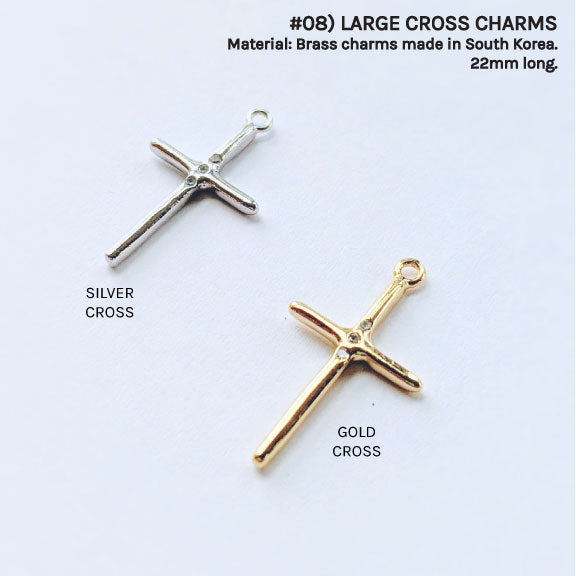 CROSS CHARMS FOR CUSTOM NECKLACE - One Thing Lockets