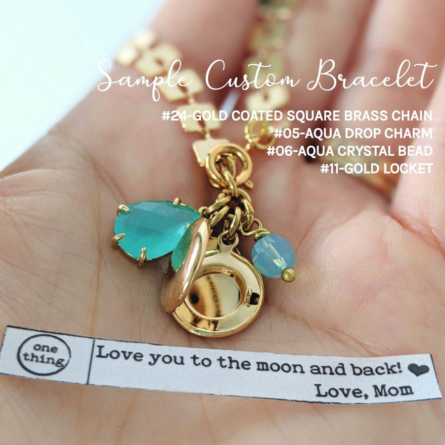 DESIGN YOUR OWN! CHOOSE THE CHAIN, CHARMS, LOCKET YOU WANT & WE'LL MAKE IT! - One Thing Lockets | Empowering People With Their Own Message
