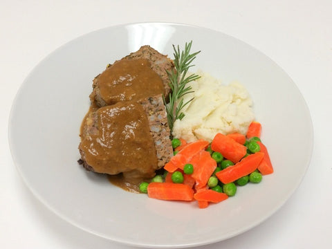 Meatloaf, Mashed Potatoes & Chef's Vegetables