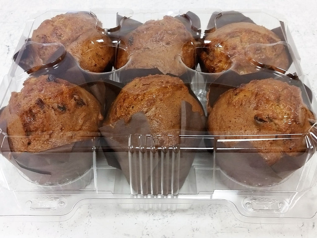 Muffin 6 Pack- Morning Glory