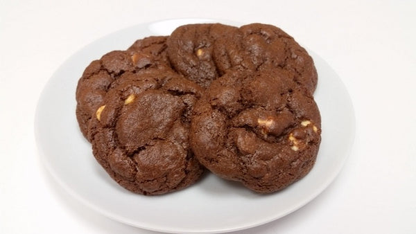 Fresh Baked Triple Chocolate Cookies