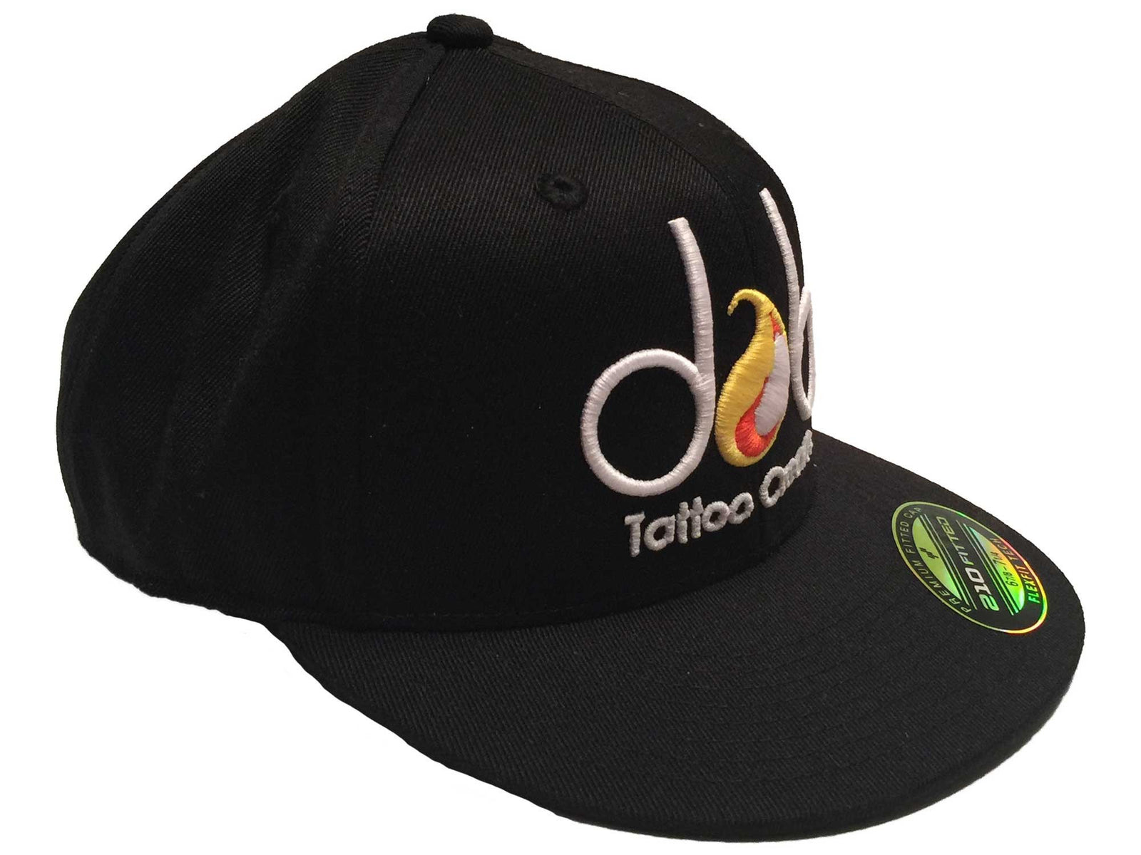 Dab Official 3D Embroidered Flexfit Fitted Hat