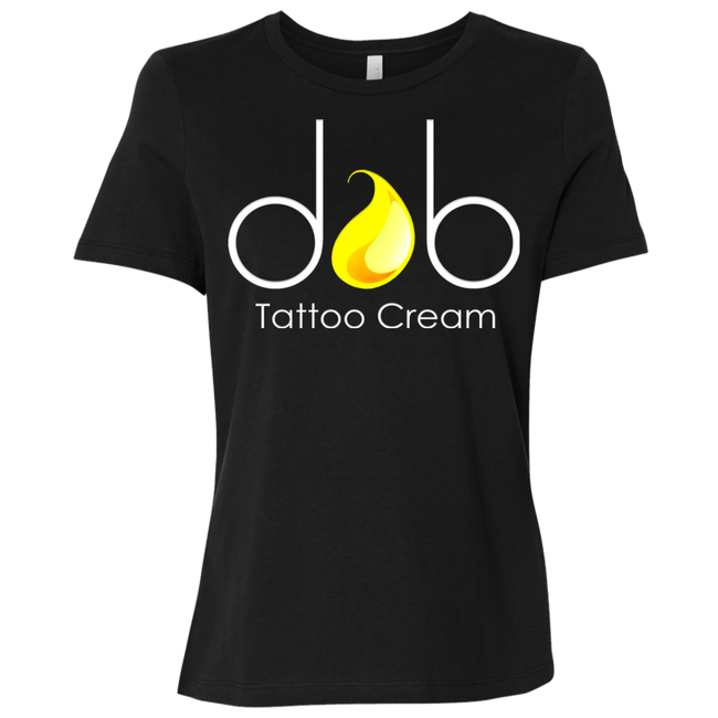 Dab Tattoo Cream Logo Ladies Tee