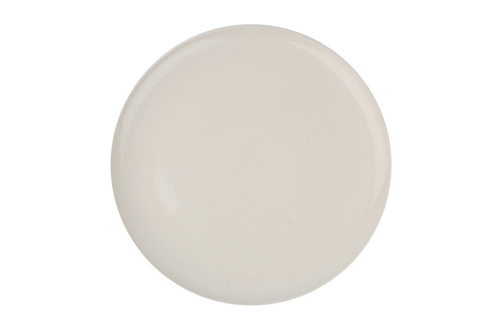 Shell Bisque Salad Plate White