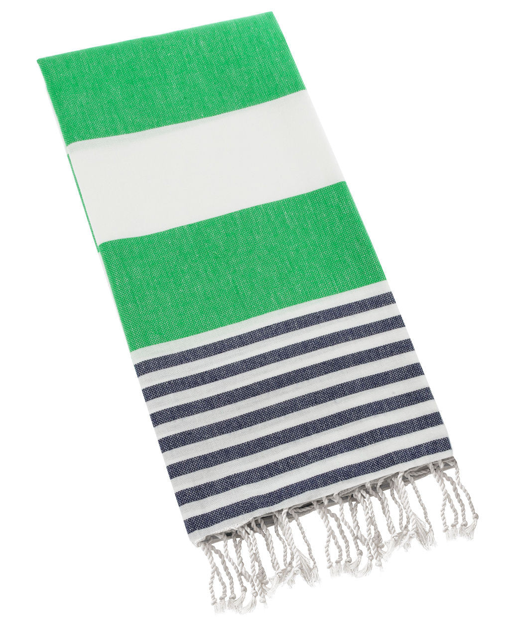 Turkish Towel- Green and Blue