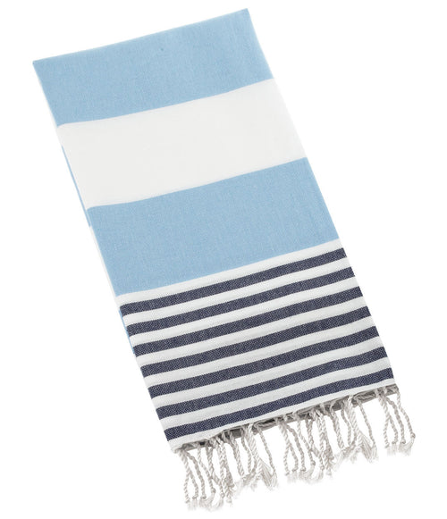 Turkish Towel- Soft Blue