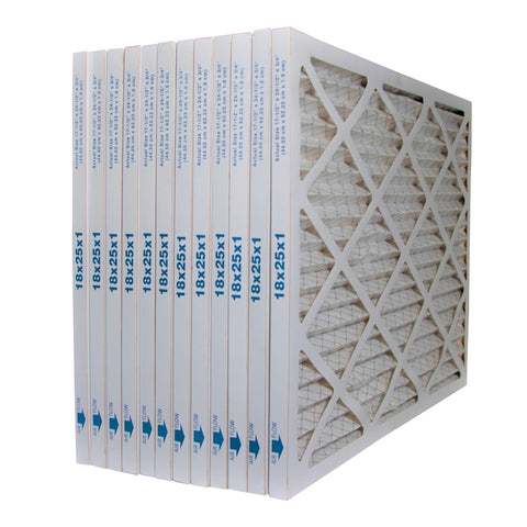 18x25x1 Furnace Air Filter MERV 8. Case of 12 by FurnaceFilters.Ca