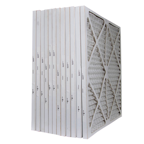 22 x 22 x 1 MERV 8 Pleated Furnace & A/C Filters. Case of 12