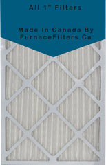 20 x 30 x 1 MERV 8 Pleated Filters. Case of 12.