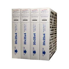 20x25x4 MERV 13 Furnace Air Filter. Exact Size Size 19 1/2 x 24 1/2 x 3 3/4. Case of 4 by FurnaceFilters.Ca